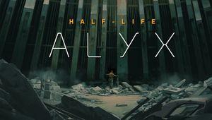 Key art for Half-Life: Alyx.
