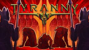 Poster art for Tyranny, an RPG game by Obsidian Entertainment