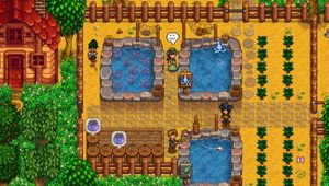 Fish Ponds, upcoming feature in Stardew Valley