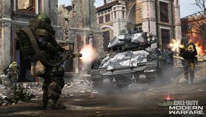 Armoured vehicle from Call of Duty: Modern Warfare