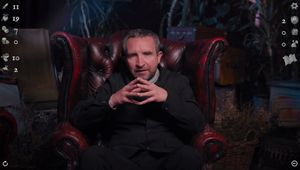 Eddie Marsan in Deathtrap Dungeon: The Interactive Video Adventure