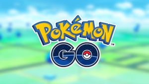 artwork showing pokemon go logo