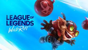 League of Legends: Wild Rift official splash with champion Ziggs