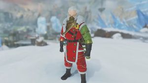 Apex Legends, Caustic Santa skin