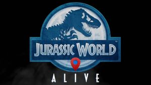 Logo for the location augmented reality based game Jurassic World Alive
