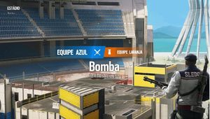 screenshot showing Rainbow Six Siege stadium map