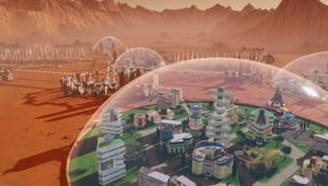 Screenshot from Surviving Mars showing a biome
