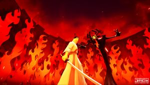 Samurai Jack: Battle Through Time , Aku and Jack