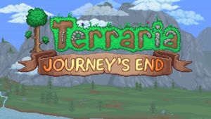 Terraria Journeys End logo