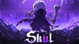 Skul: The Hero Slayer - key art with logo