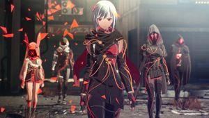 Scarlet Nexus screenshot showing female character
