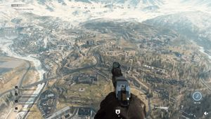 Screenshot from the Reddit video showing the map