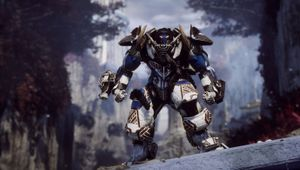 Anthem: Icetide mech called Colossus