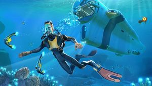 picture showing a character diving
