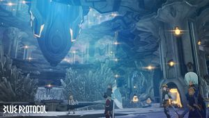 blue protocol screenshot showing new dungeon location