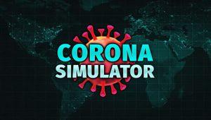Corona Simulator logo. Trailer screenshot.