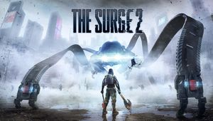 The Surge 2 artwork showing a big robot and the main protagonist