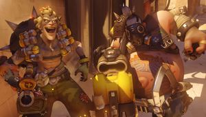 Overwatch characters Junkrat and Roadhog