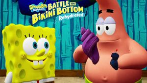 SpongeBob and Patrick in SpongeBob SquarePants: Battle for Bikini Bottom - Rehydrated