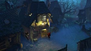 picture showing a gameplay form The book of unwritten tales 2