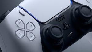 PS5's DualSense controller, cropped
