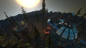 An observatory in open-world exploration game Outer Wilds