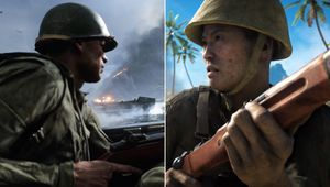 Japanese and US soldier as depicted in Battlefield V
