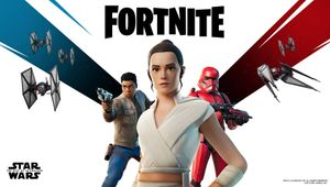 Fortnite, Star Wars event poster