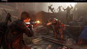 Plan 8 screenshot showing a character shootin at a creature