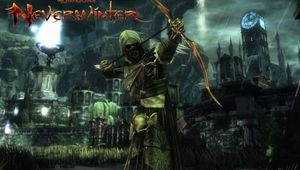 Some dude or dudette in Neverwinter is shooting arrows around