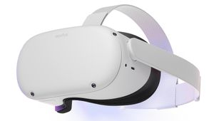 Oculus Quest 2 headset, front