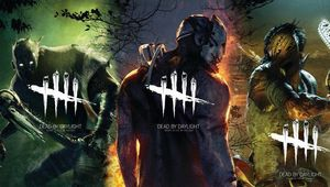 Dead by Daylight killers shown on the game's concept art.