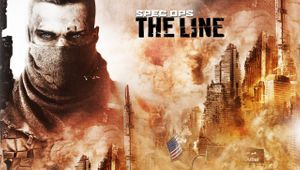 Spec Ops The Line artwork showing a mased man