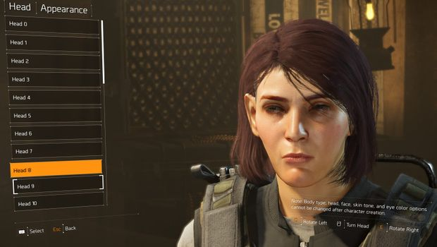 The Division 2 Character Creation Positives And Negatives
