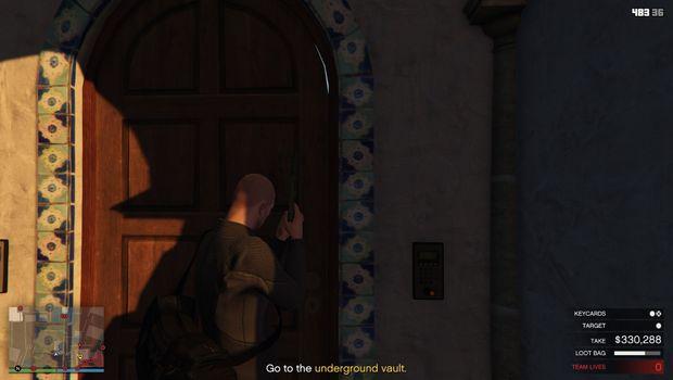 GTA Online - Warehouse North Gun Line