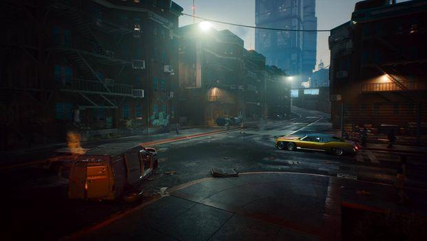 Cyberpunk 2077, Night City streets