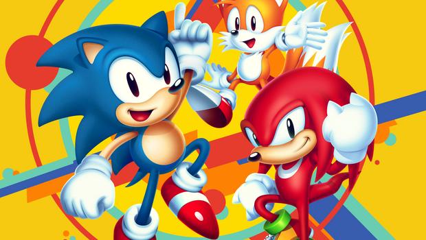 Sonic, Knuckles e uma raposa estão na imagem promocional de Sonic Mania