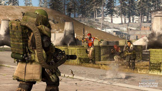 Call of Duty: MW, Juggernaut