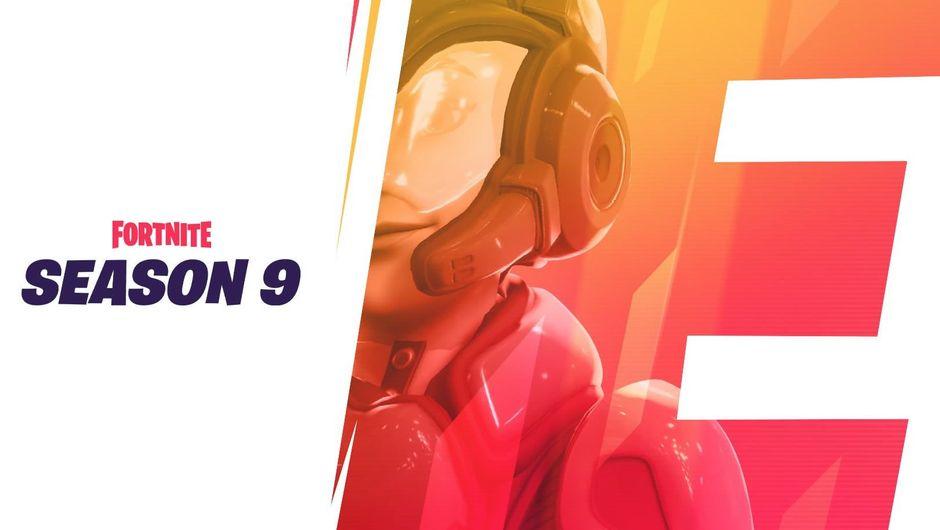Fortnite, Season 9, teaser image showing futuristic female soldier