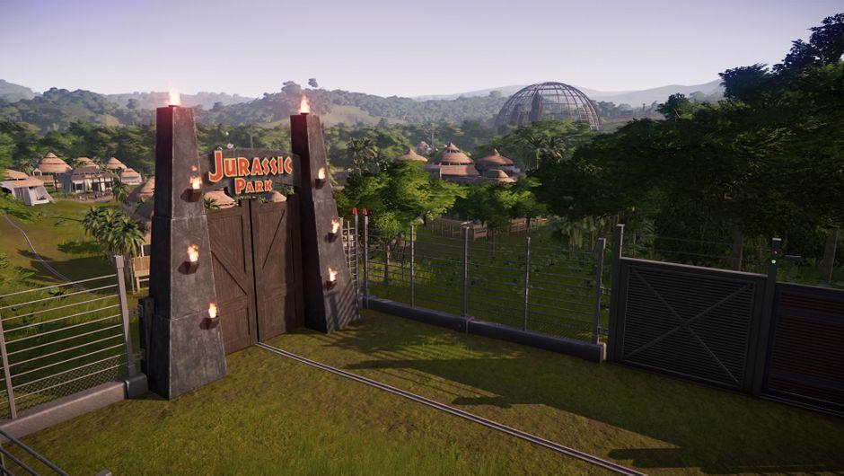 Jurassic World Evolution: Return to Jurassic Park landscape