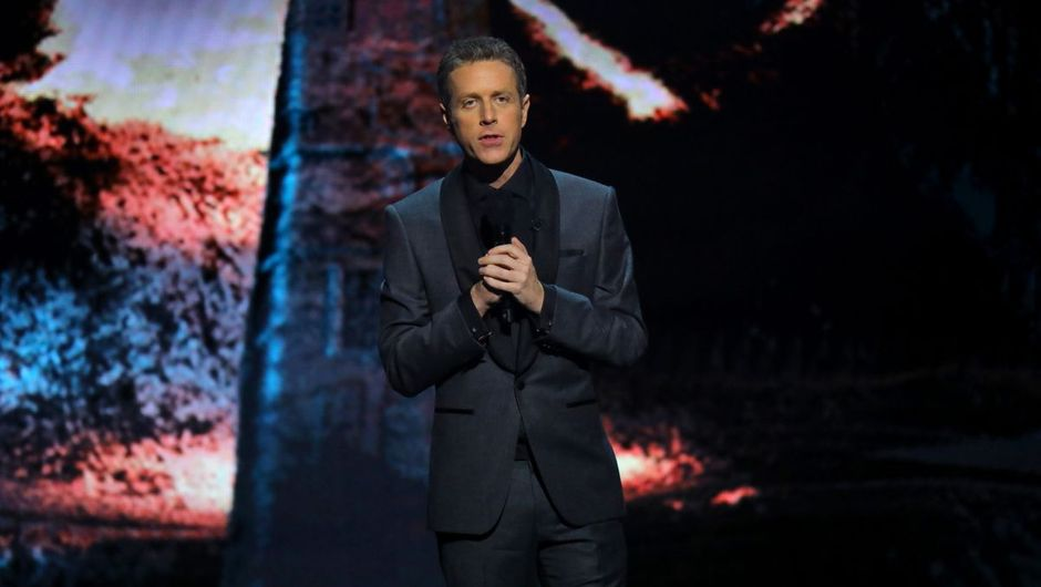 image showing industry veteran Geoff Keighley at E3 2019