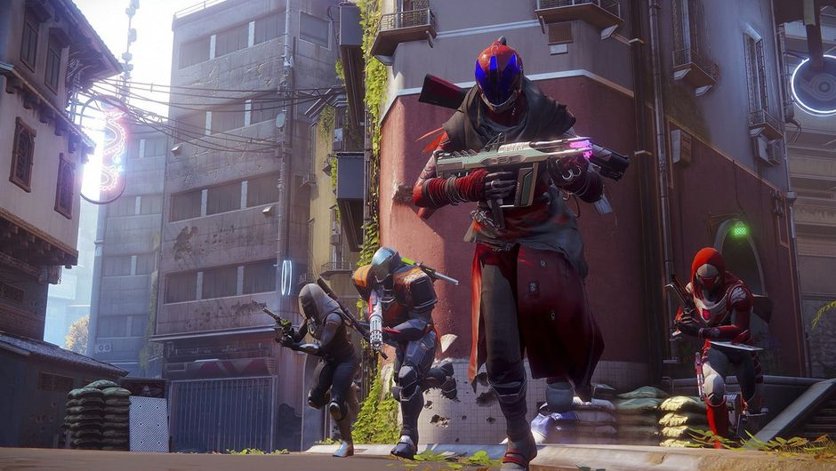 Picture of a team in Crucible in Destiny 2