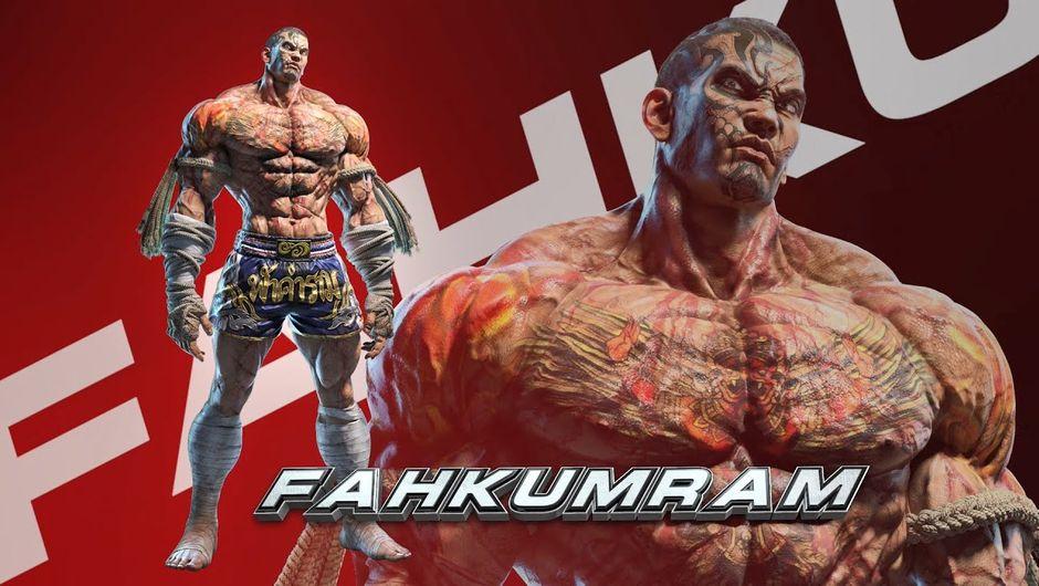 Tekken 7 Introduces Fahkumram A Muay Thai Fighter