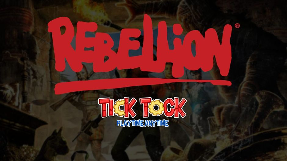 picture showing rebellion and tick tock logos