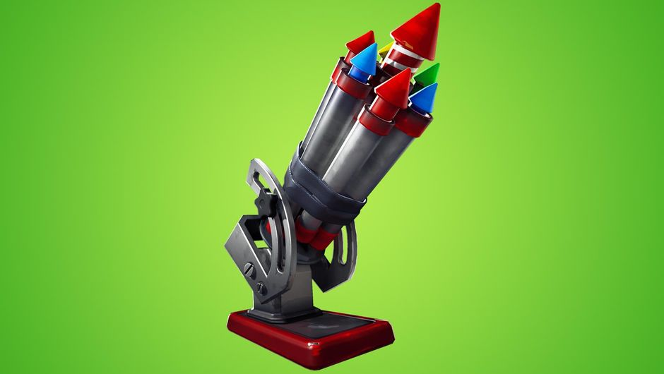 Bottle rockets, Fortnite's new weapon
