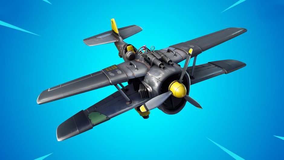 Fortnite: Battle Royale's new vehicle, the X-4 Stormwing plane