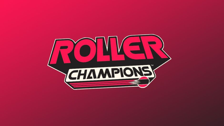 artwork showing roller champions logo on pink background