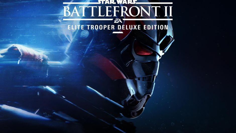 Star Wars Battlefront 2 elite trooper deluxe edition logo