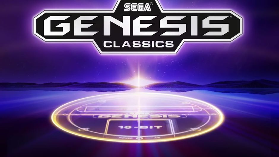 Logo for Sega's bundle of retro games from Sega Mega Drive console