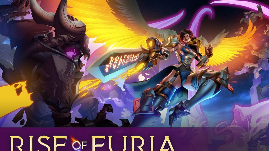 Splash art for Furia the upcoming champion in Paladins